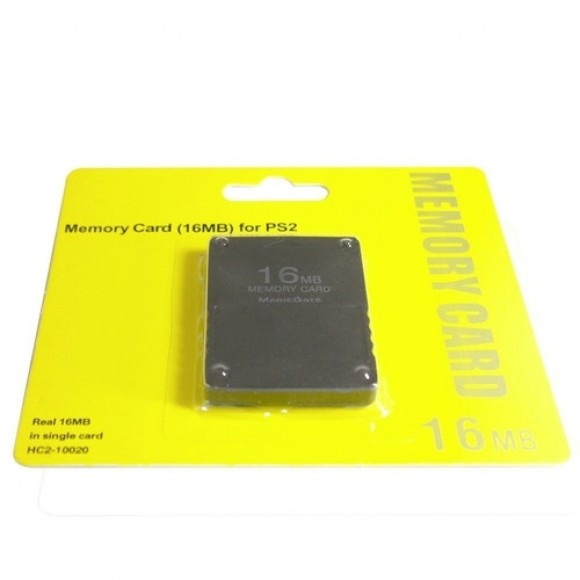 MEMORY CARD PARA PLAYSTATION 2 DE 16 MB XTRAD XD-016