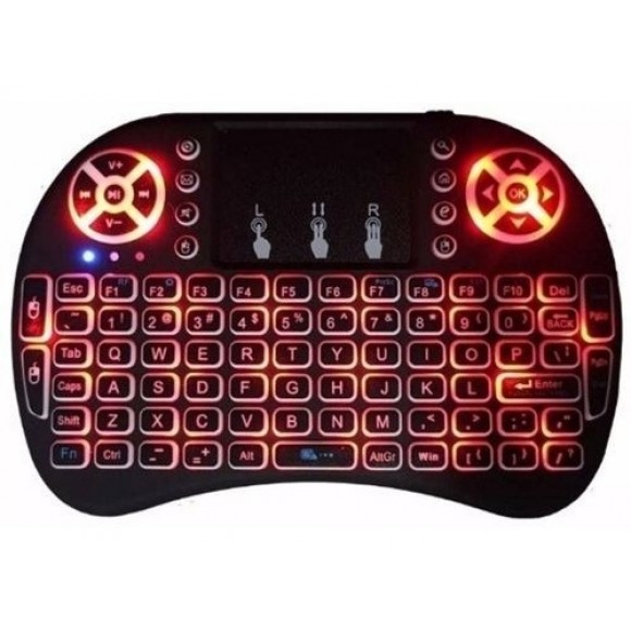 MINI TECLADO SEM FIO COM LED XTRAD CH0271