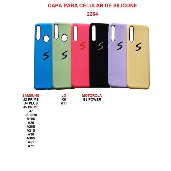 (SEM TROCA) CAPINHA PARA CELULAR DE SILICONE 7