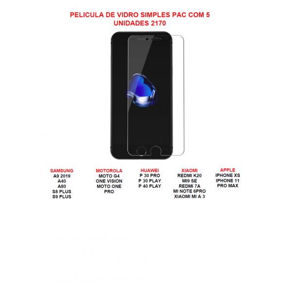 (SEM TROCA) PELICULA  DE VIDRO 2