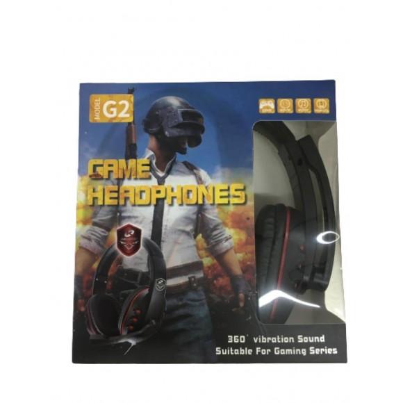 HEADPHONE GAMER COM MICROFONE G2