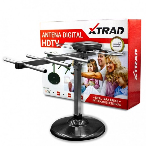 ANTENA DIGITAL INTERNA PARA TELEVISAO XTRAD XT-2116
