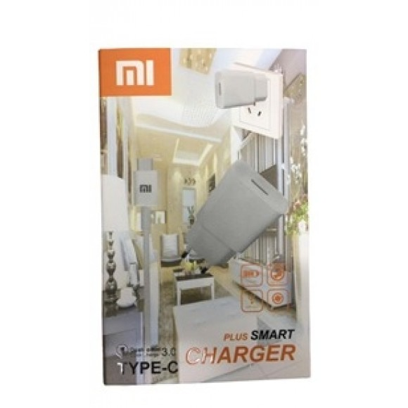 CARREGADOR CHARGER PLUS XIAOMI 3.0 V8