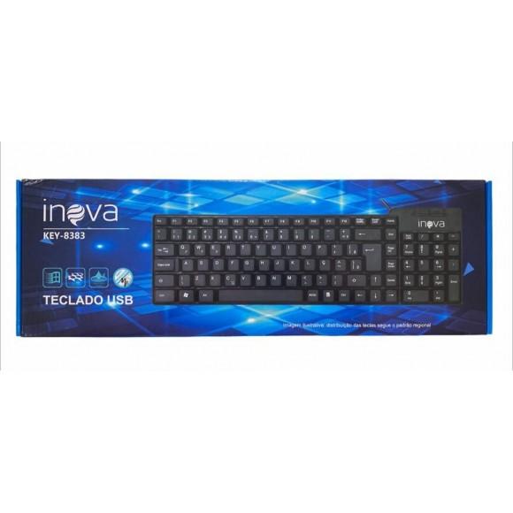 TECLADO USB INOVA KEY-8383
