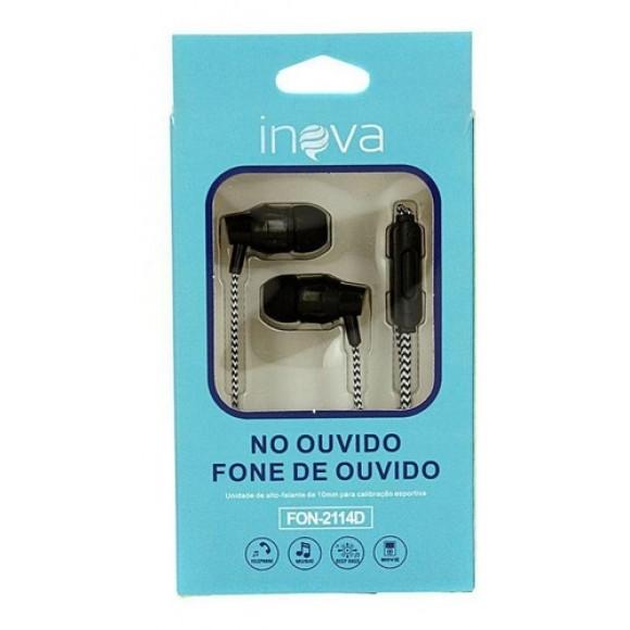 FONE DE OUVIDO INOVA FON-2114D