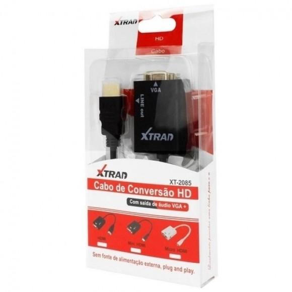CABO DE CONVERSAO HD HDMI PARA VGA XT-2085