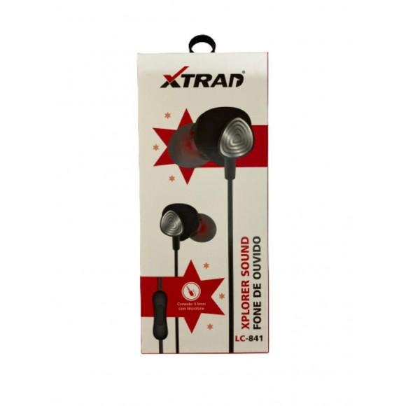 FONE DE OUVIDO XPLORER SOUND XTRAD LC-841