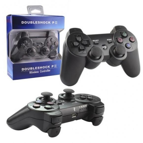 CONTROLE DOUBLESHOCK PS3 BLUETOOTH (SEM CABO USB)