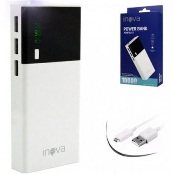 CARREGADOR PORTATIL 3 USB 10000MAH INOVA POW-8317