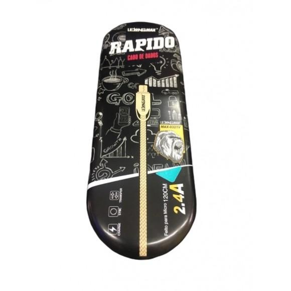 CABO DADOS USB V8 LELONG MAX-0321V