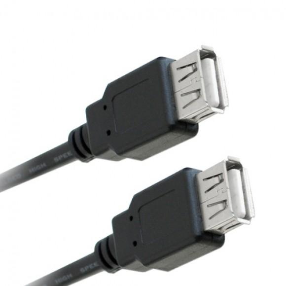 CABO USB FEMEA/USB FEMEA DE 2 METROS LELONG LE-8031
