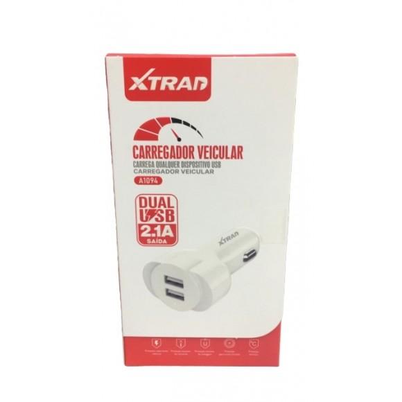 CARREGADOR VEICULAR XTRAD A1094