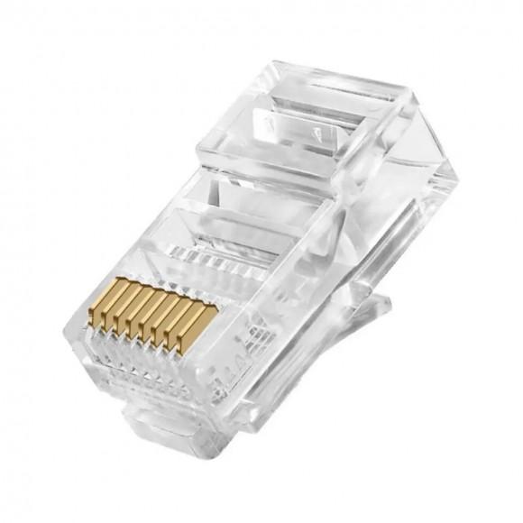 CONECTOR PARA CABO DE REDE XTRAD 10UN XT-310