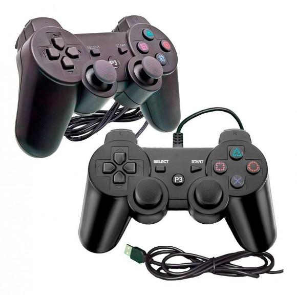 CONTROLE DE PLAYSTATION 3 COM FIO XD-323