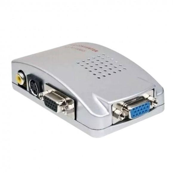 CONVERSOR VGA PARA AV ALTA RESOLUCAO XTRAD XT-5555
