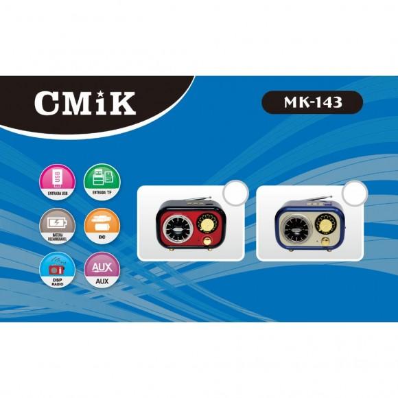 CAIXA DE SOM BLUETOOTH CMIK MK-143